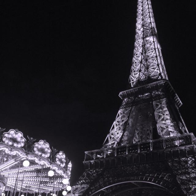 """""""Paris nights"""" stock image"""