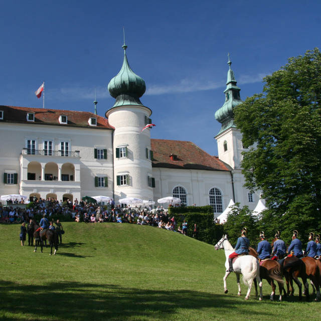 """Artstetten Castle in June"" stock image"