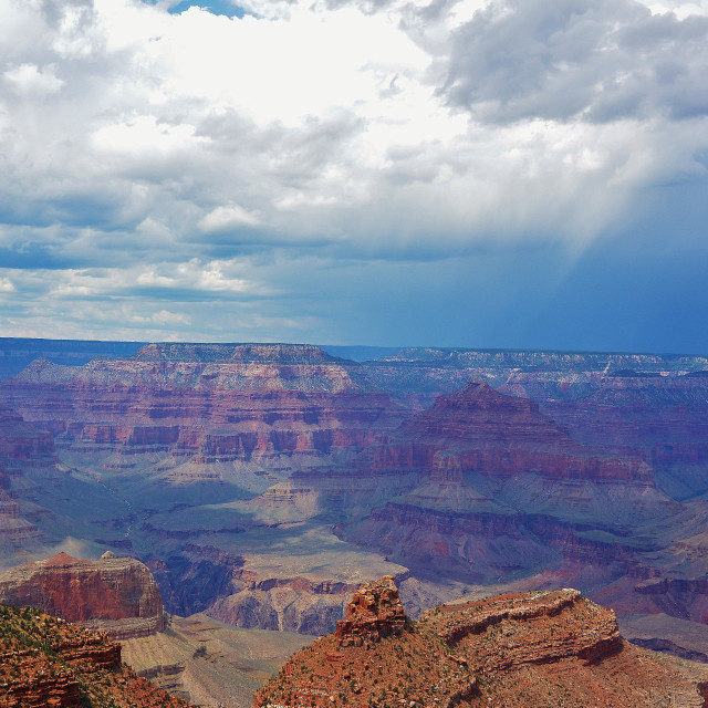 """The Grand Canyon"" stock image"