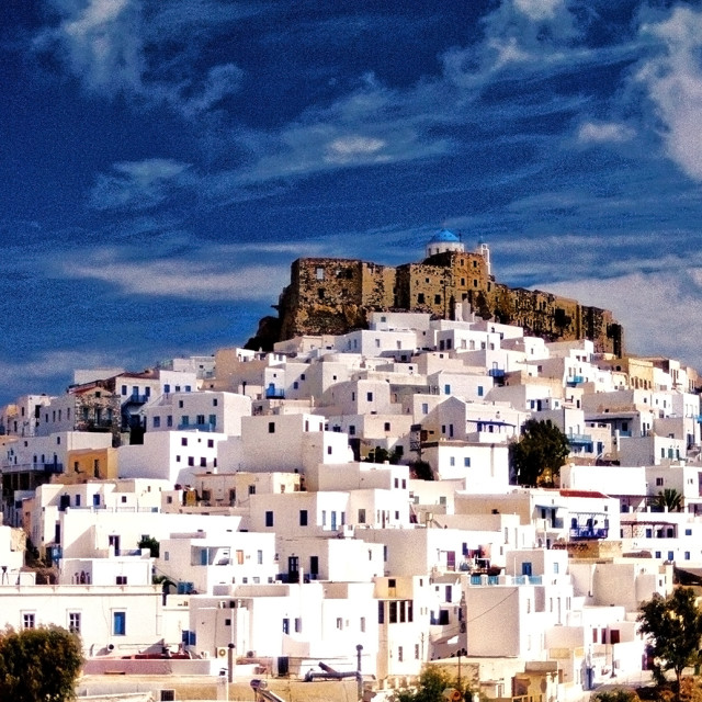 """""""Isalnd of Astypale`_2, Greece"""" stock image"""