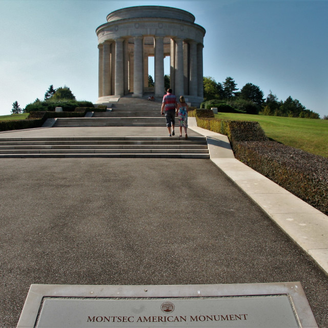 """Montsec American Monument"" stock image"