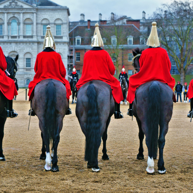 """""""Horse Guards Parade in London"""" stock image"""