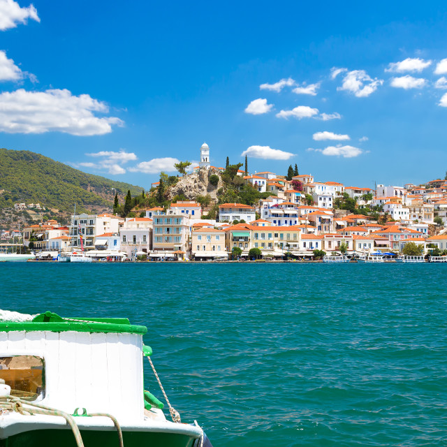 """Poros Island, Greece"" stock image"