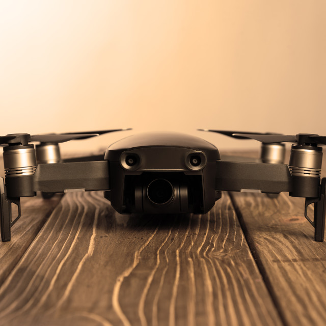 """""""Small modern drone"""" stock image"""