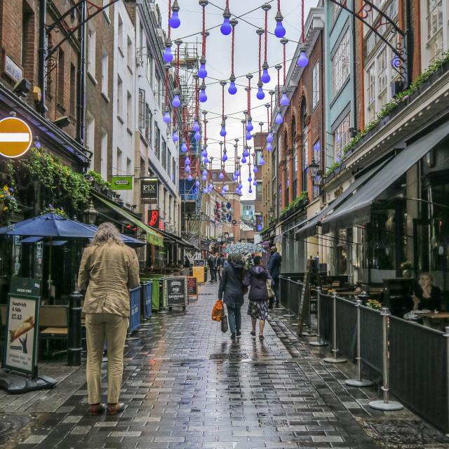 """Carnaby Street"" stock image"