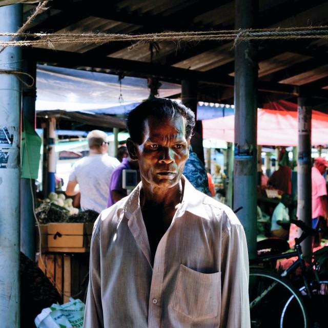 """Sri Lanka Induruwa market"" stock image"