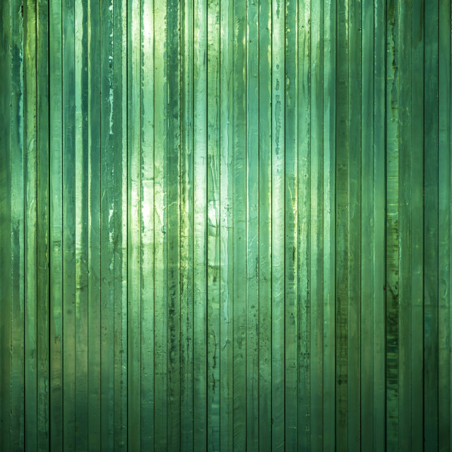 """""""Thick green glass"""" stock image"""