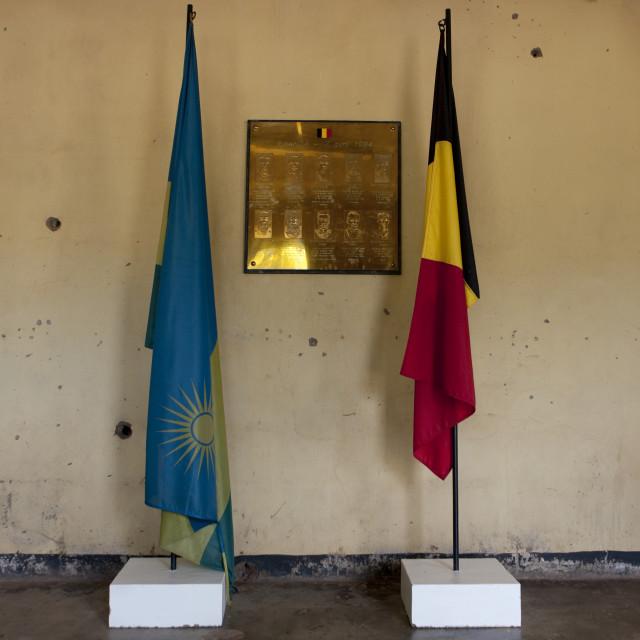 """""""Camp kigali memorial site - rwanda"""" stock image"""