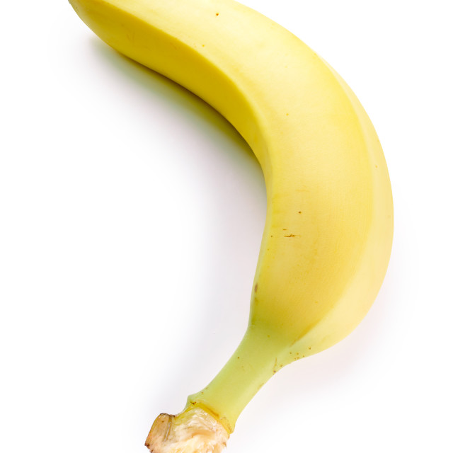 """""""Banana Isolated on White Background"""" stock image"""