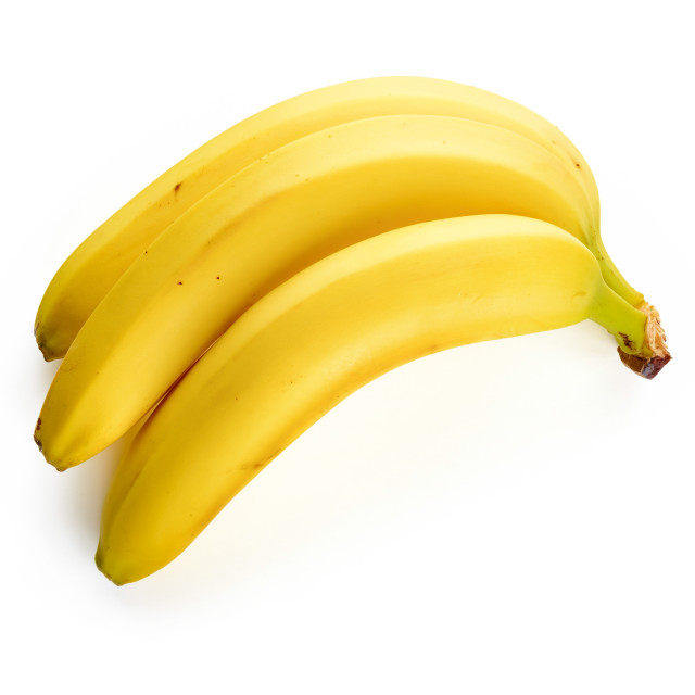 """""""Bananas Isolated on White Background"""" stock image"""