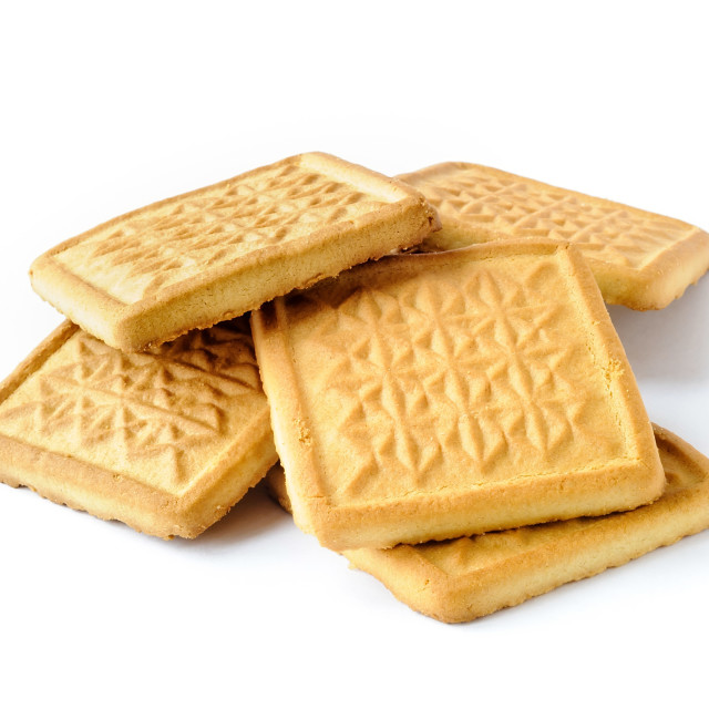 """""""Genuine Butter Cookies"""" stock image"""