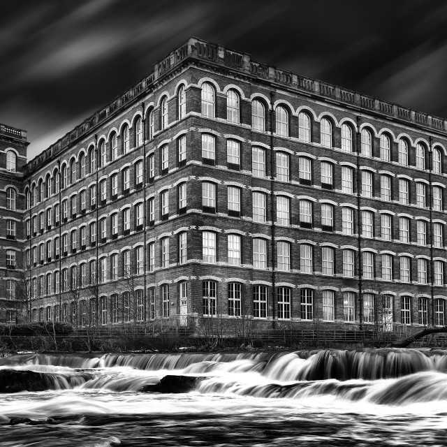 """Paisley Mill"" stock image"