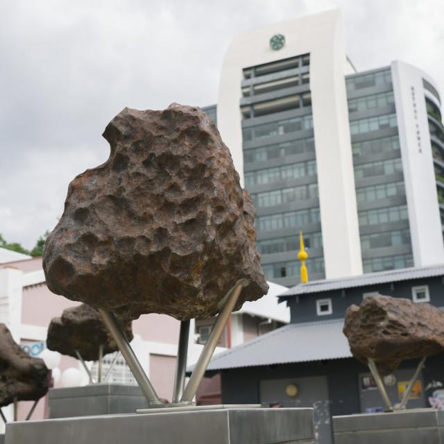"""""""Meterorites, Windhoek, Namibia"""" stock image"""