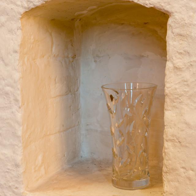 """Niche with Vase"" stock image"