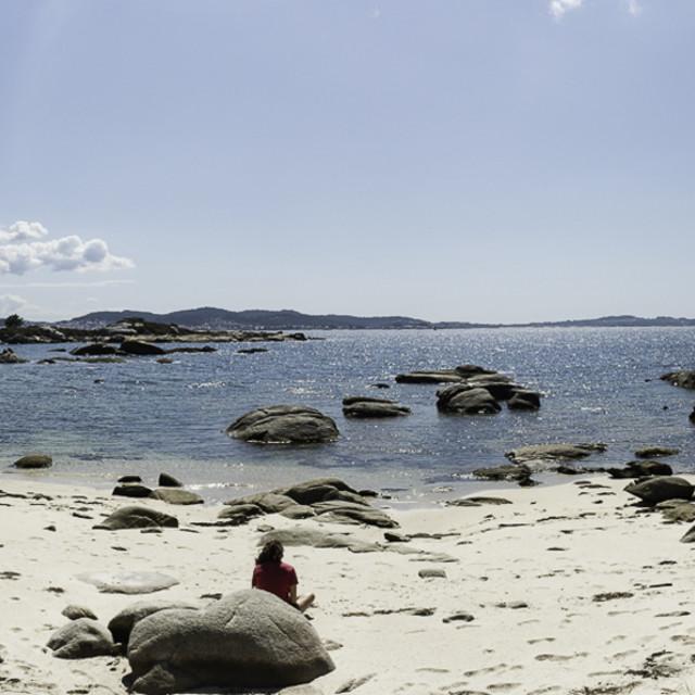 """""""Beach Panorama"""" stock image"""