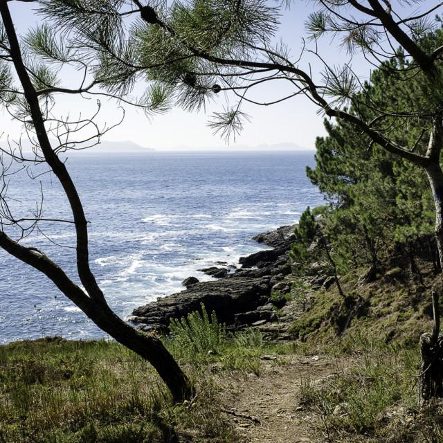 """Atlantic Path"" stock image"