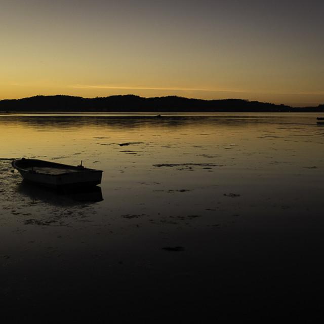 """Resting Boat"" stock image"