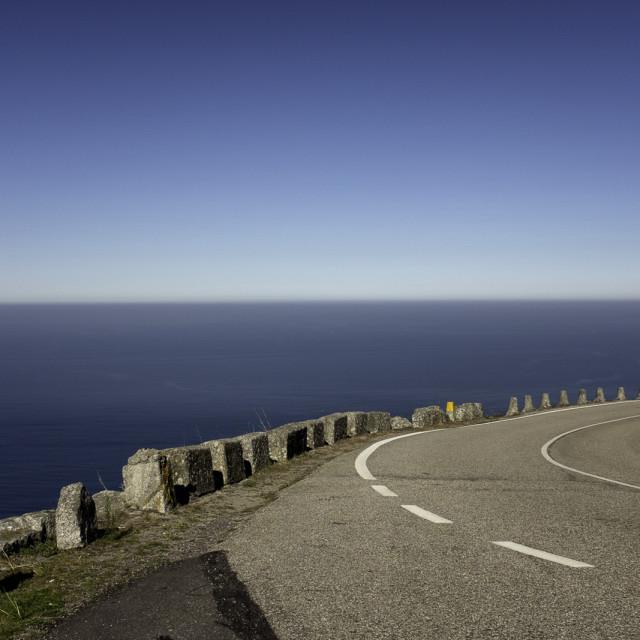 """Atlantic Coastal Road"" stock image"