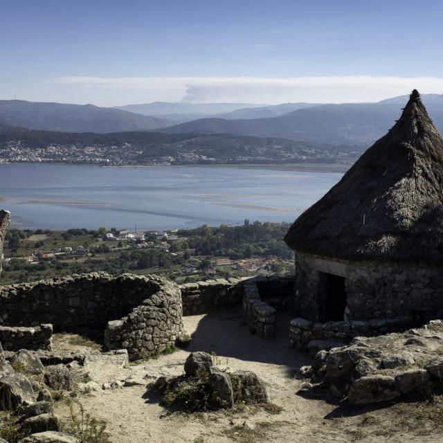 """""""Iron Age House"""" stock image"""
