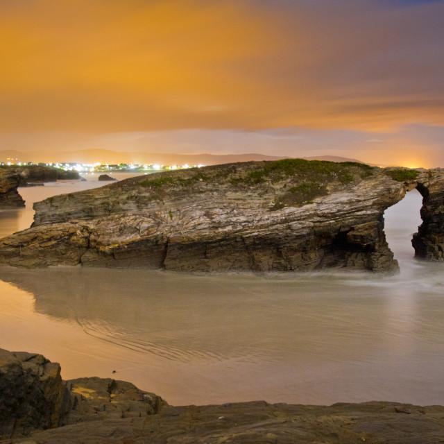 """""""Playa de las Catedrales 7"""" stock image"""