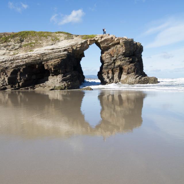 """""""Playa de las Catedrales 14"""" stock image"""