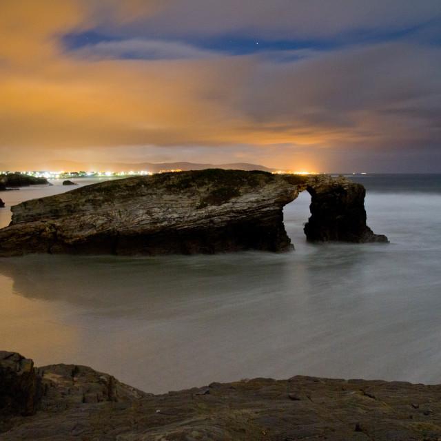 """""""Playa de las Catedrales 6"""" stock image"""