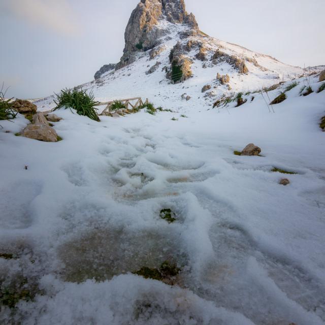 """""""Mountain's Sound"""" stock image"""