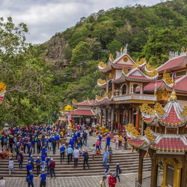 """Ba Den Pagoda"" stock image"