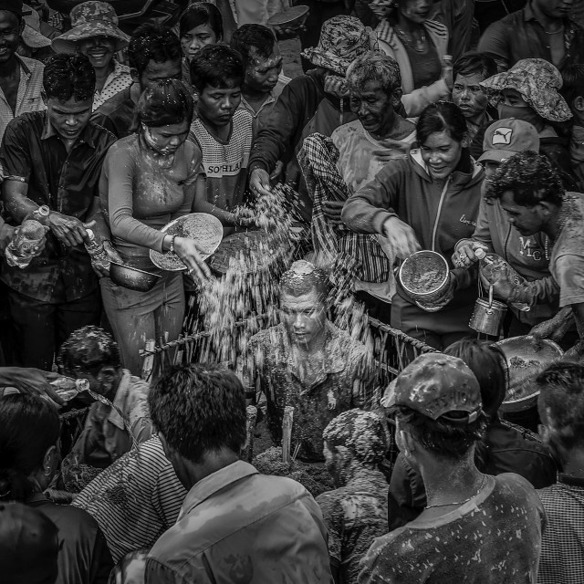 """Chol Chnam Thmay Festival"" stock image"