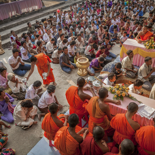 """Chol Chnam Thmay Festival"" stock image"