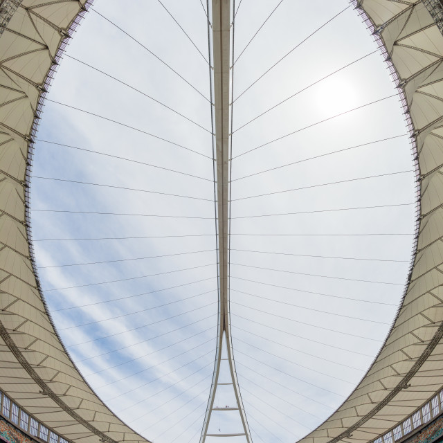 """Football Staduim Field Chairs Landscape"" stock image"