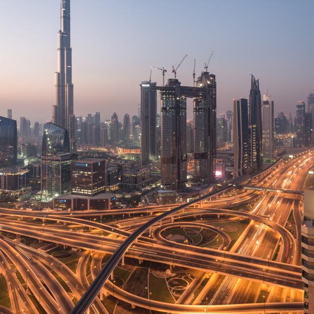 """The Capitol - Dubai"" stock image"