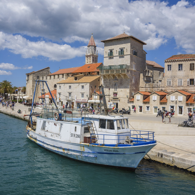 """Trogir Old Town, Croatia"" stock image"
