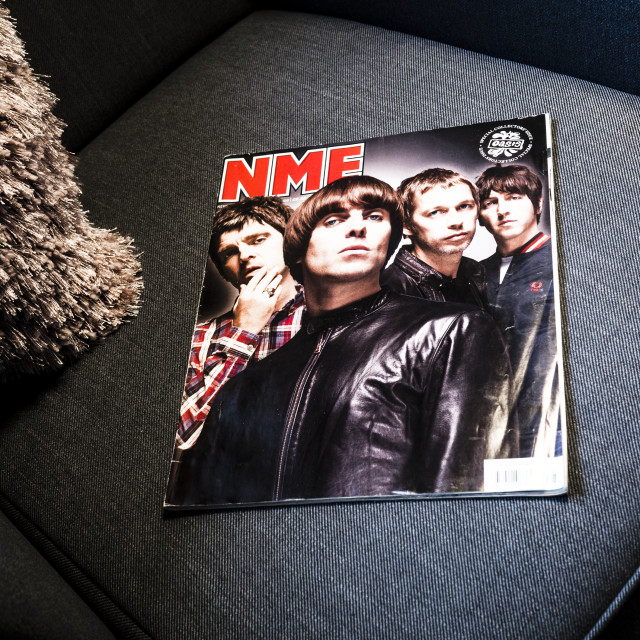"""NME, New Musical Express magazine"" stock image"