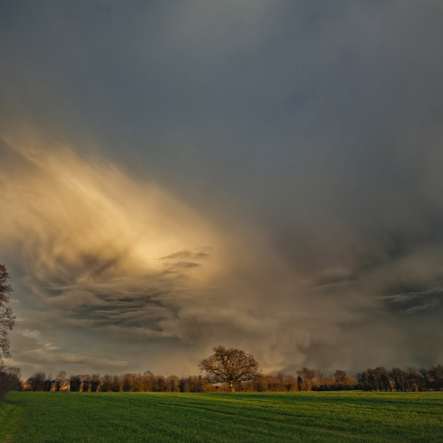 """""""Storm Clouds"""" stock image"""