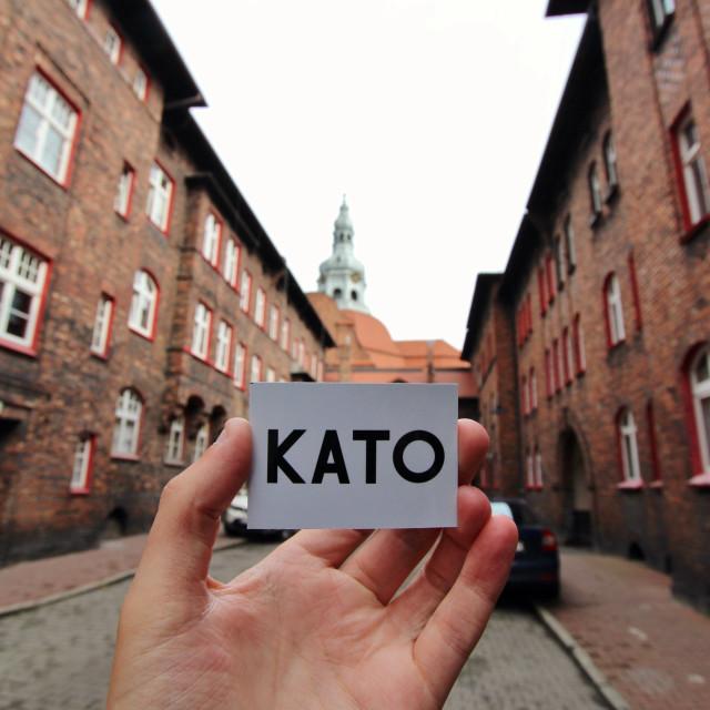 """Katowice: Nikiszowiec"" stock image"