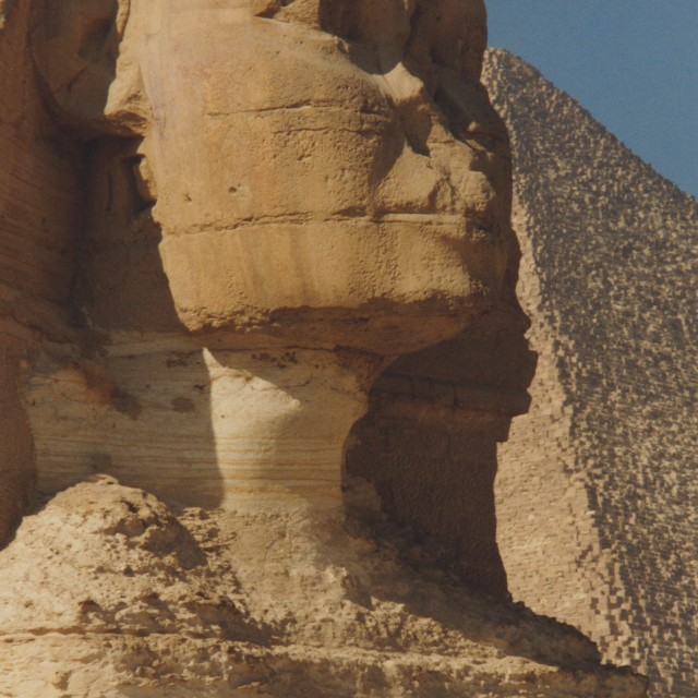 """Great Sphinx of Giza"" stock image"