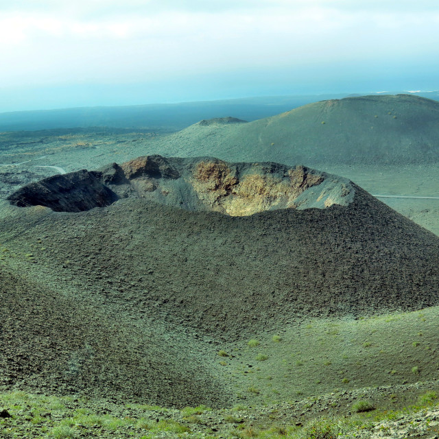 """""""Volcanic crater"""" stock image"""