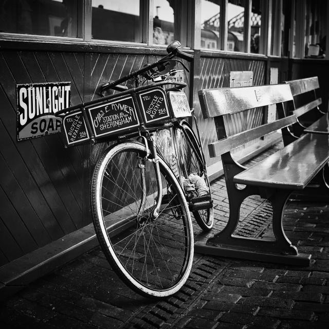 """""""Sherringham Station"""" stock image"""