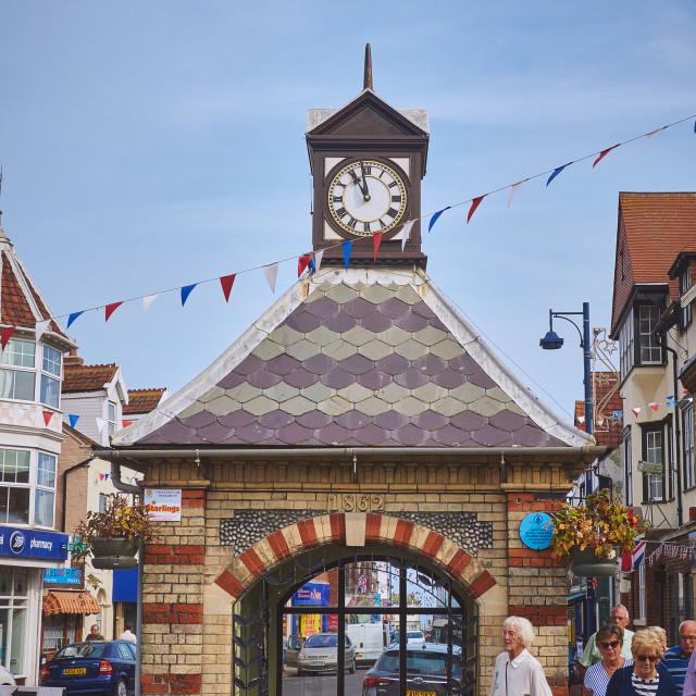 """""""Sherringham, Norfolk"""" stock image"""