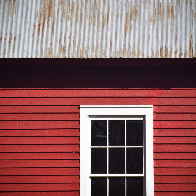"""Starr's Mill, Georgia - Window"" stock image"