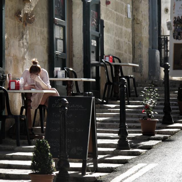 """""""Valletta, Malta"""" stock image"""