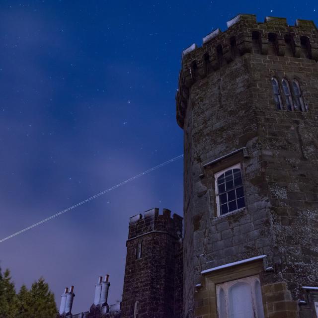 """Balloch Castle"" stock image"