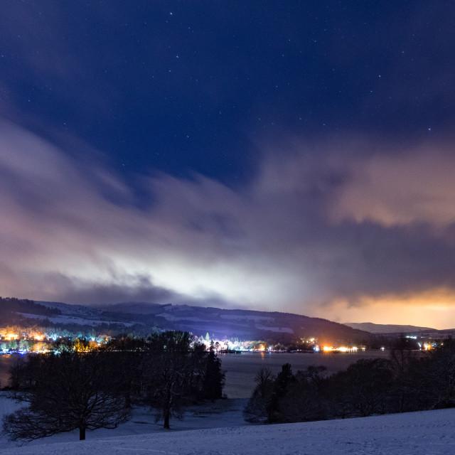 """Light Pollution"" stock image"