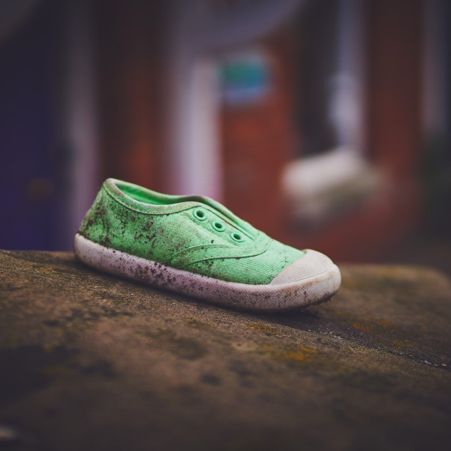 """""""Lost shoe"""" stock image"""