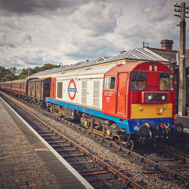 """""""Sherringham Train Station"""" stock image"""