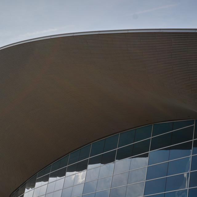 """Aquatic Centre Stratford"" stock image"