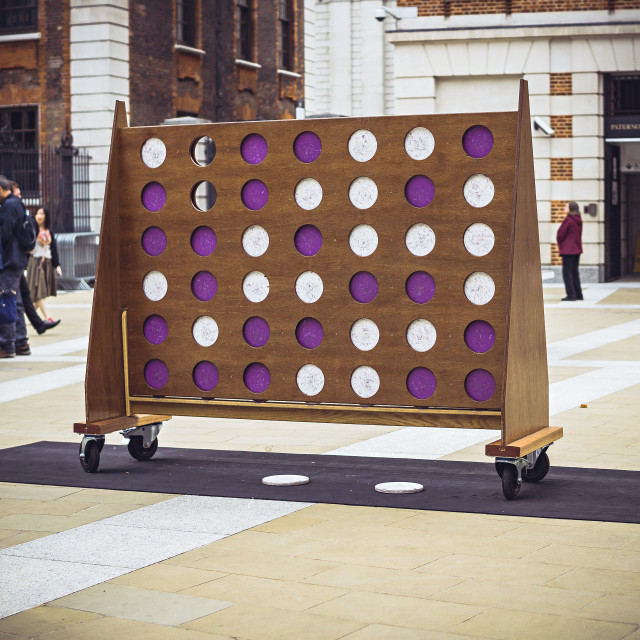 """Giant Connect Four"" stock image"
