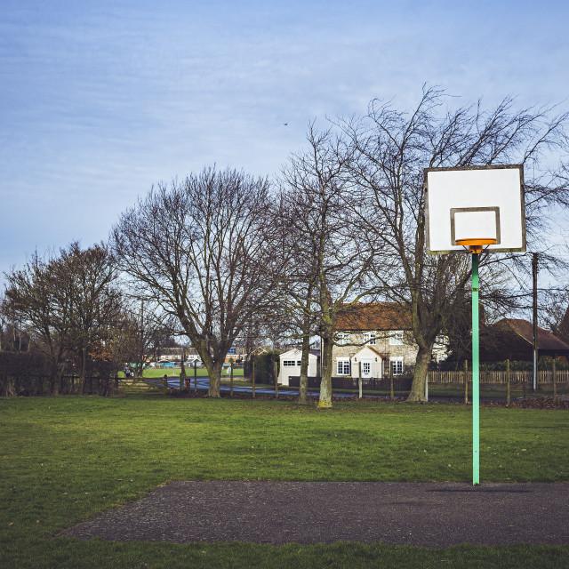 """""""Basket hoop"""" stock image"""