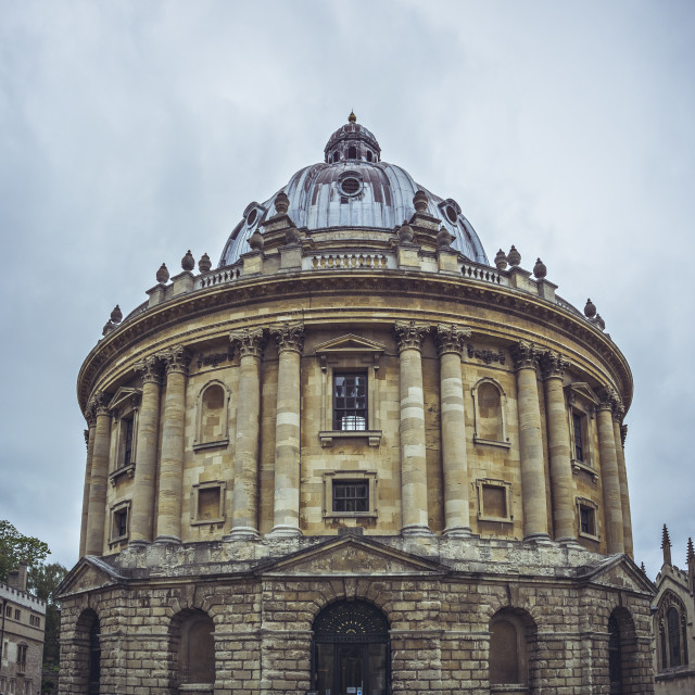 """Radcliffe Camera building in Oxford"" stock image"